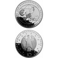 Germany 2002 10 euro Ubergang zur Wahrungsunion F