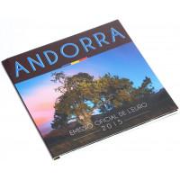 Andorra 2015 Euro coins BU set