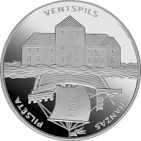 Latvia 2000 Ventspils. Hanseatic cities.