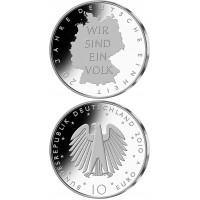 Germany 2010 10 euro Deutsche Einheit A