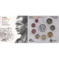 San Marino 2014 Euro coins BU set with 5 euro silver coin