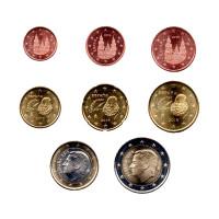 Spain 2019 Euro coins UNC Set