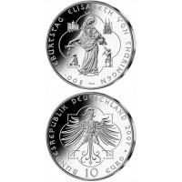 Germany 2007 10 euro Geburtstag Elisabeth von Thuringen A