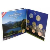 Austria 2009 Euro coins BU set