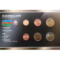 Azerbaijan 1991 year blister coin set
