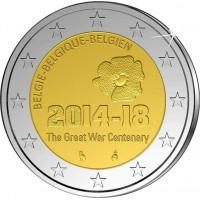 Belgium 2014 Centenary of the start of the First World War