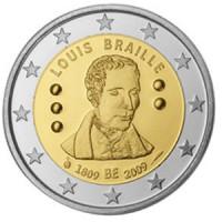 Belgium 2009 200th anniversary of Louis Braille's birth