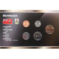 Bermuda 2000-2009 year blister coin set