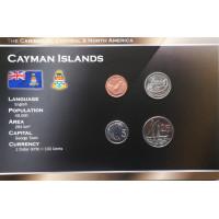 Cayman Islands 2002-2005 year blister coin set