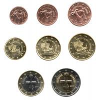 Cyprus 2011 Euro coins UNC Set