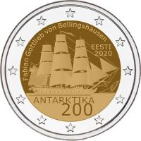 Estonia 2020  200th anniversary of the discovery of Antarctica
