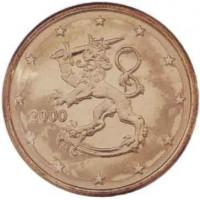 Finland 2000 0.01 cent
