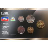 Haiti 1995-2003 year blister coin set