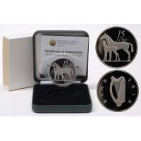 Ireland 2010 15 euro Horse