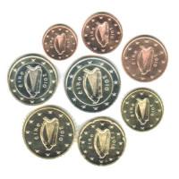 Ireland 2010 UNC Euro coin set