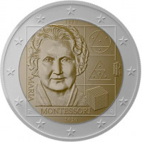 Italy 2020 150th Anniversary of the Birth of Maria Montessori