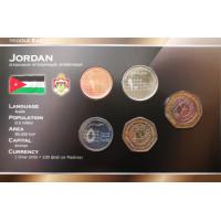 Jordan 2002-2006 year blister coin set