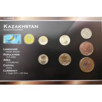 Kazakhstan 2002-2010 year blister coin set