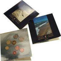 Latvia 2014 Euro coins BU set