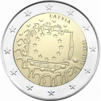 Latvia 2015 30 years of the EU flag