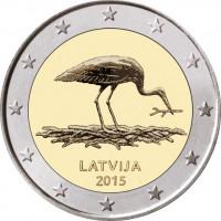 Latvia 2015 Black Stork