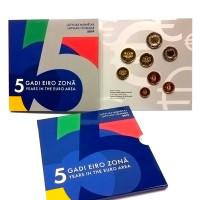Latvia 2019 Euro coins BU set
