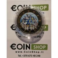 Lithuania 2017 2 euro regular colored coin
