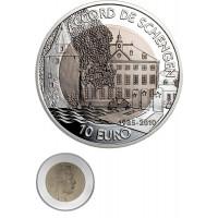 Luxembourg 2010 10 euro Schengen