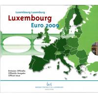 Luxembourg 2009 Euro coins BU Set