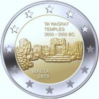 Malta 2019 Ta' Hagrat Temple mint mark F