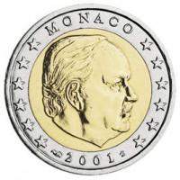 Monaco 2001 2 euro