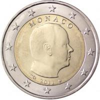 Monaco 2011 2 euro