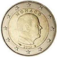 Monaco 2012 2 euro