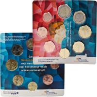 Netherland 2014 Euro coins BU set
