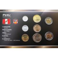 Peru 2009-2011 year blister coin set