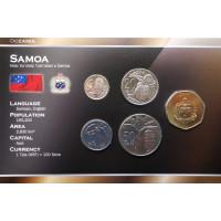 Samoa 2002-2006 year blister coin set