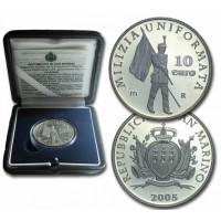 San Marino 2005 10 euro Milizia Uniformata