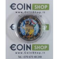 San Marino 2016 2 euro COLORED