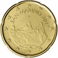 San Marino 2017 0,20 cent