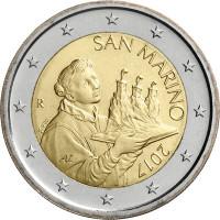 San Marino 2017 2 euro