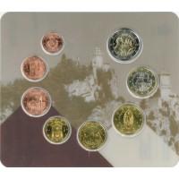San Marino 2020 Euro coins BU set