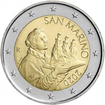 San Marino 2020 2 euro regular coin