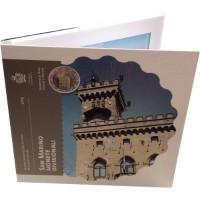 San Marino 2015 Euro coins BU set