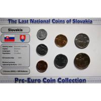Slovakia 2001-2007 blister set
