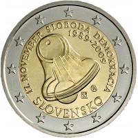 Slovakia 2009 20th anniversary of 17 November 1989