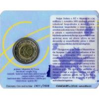 Slovakia 2009 EMU coin card