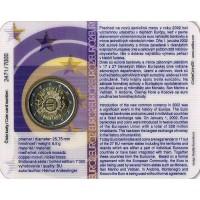 Slovakia 2012 Ten years of the Euro coin card