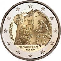 Slovakia 2017 550th anniversary of the Universitas Istropolitana