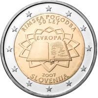 Slovenia 2007 TOR 50th anniversary of the Treaty of Rome