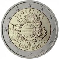 Slovenia 2012 Ten years of the Euro